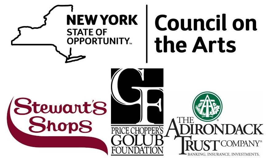 NYSCA Stewarts Golub Adk Trust Sponsor Logos Block cropped
