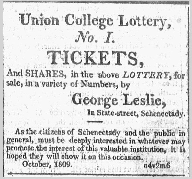 10.24.09 Independant American BSpa Union College Lottery Tickets