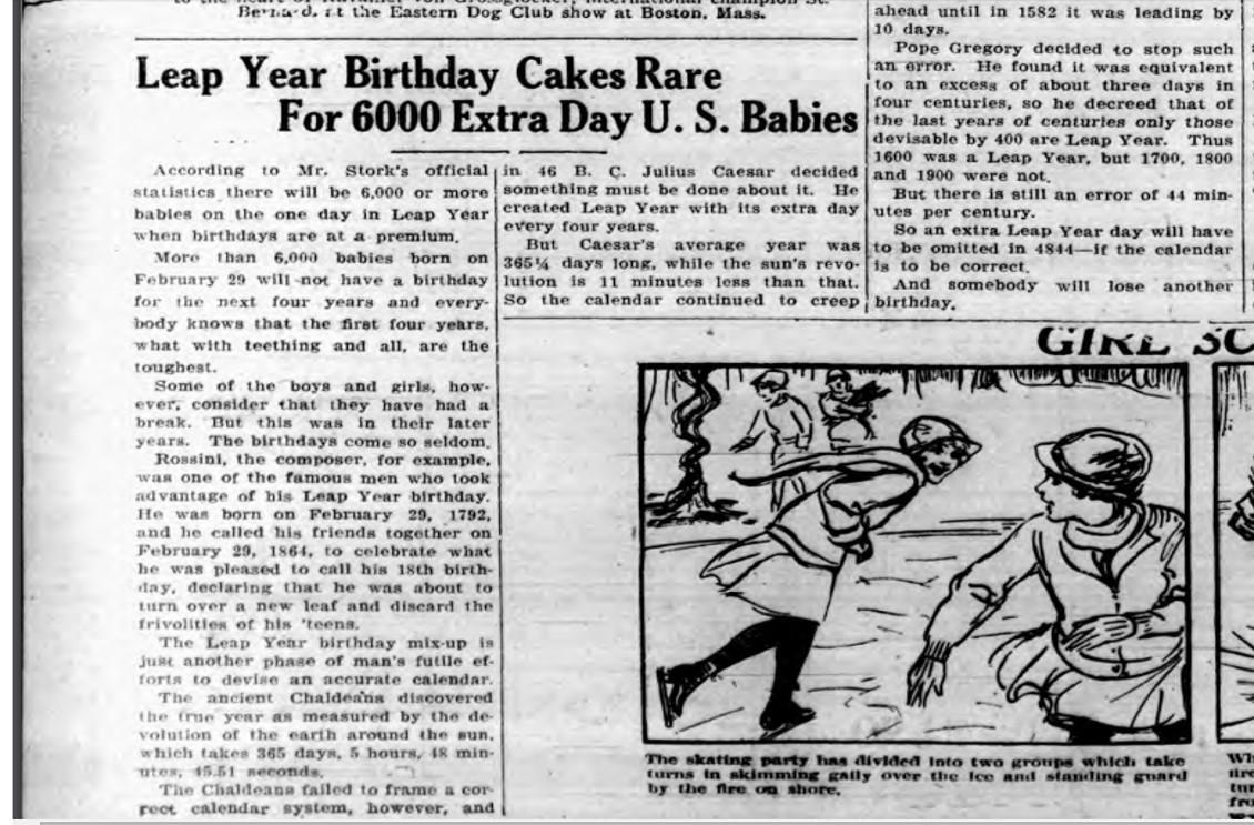 Ballston Journal Feb 29 1932
