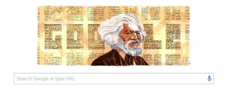 Frederick Douglass Google Doodle