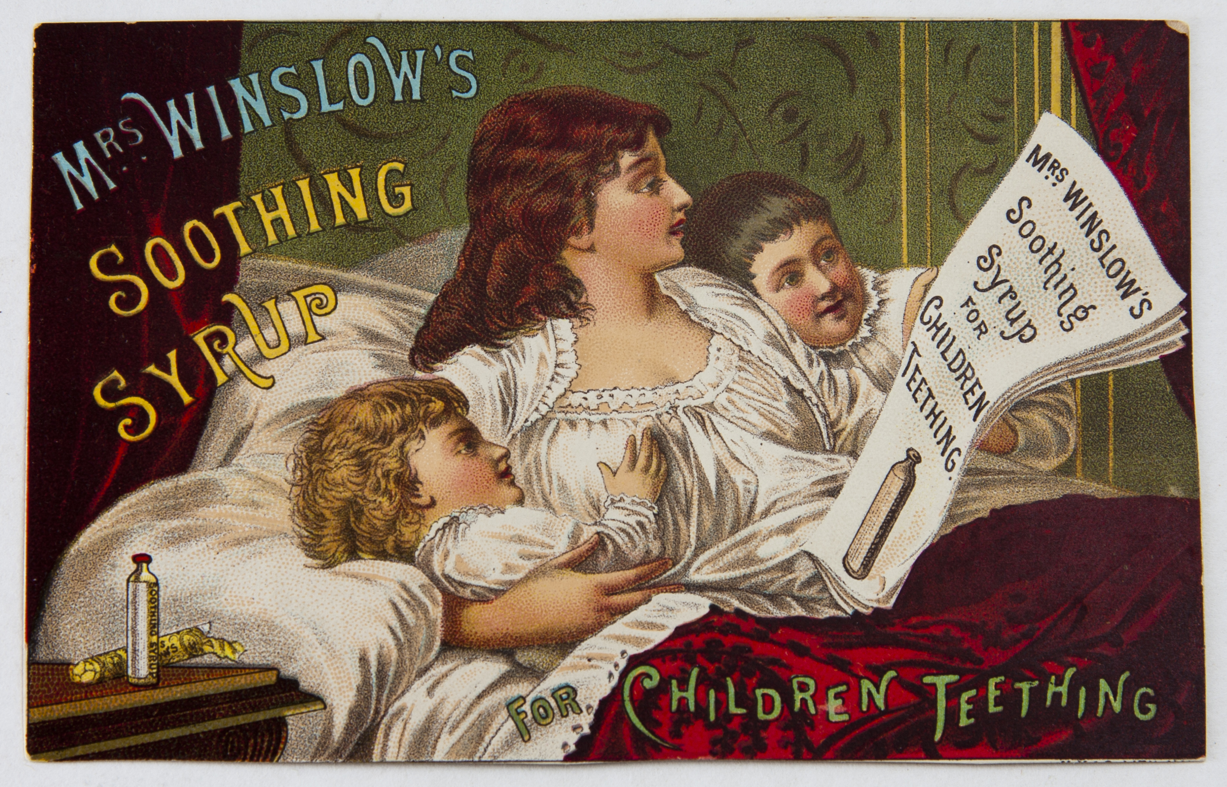 Mrs Winslow color lithograph