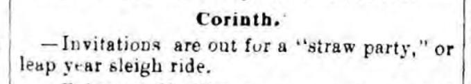 Saratoga Sentinel January 29 1880